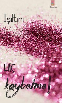 Hafta sonu keyfinin ışıltısı da hep üzerinde olsun ;) #Cuma #Friday #TGIF #glitter
