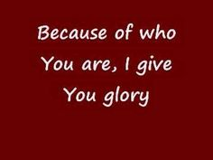 Because of Who You Are - Vicki Yohe - YouTube