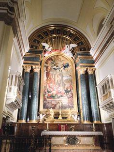 Interior Real Iglesia Parroquial de San Ginés. Calle Arenal, 13 CP-28013, Madrid.