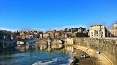 Tiber River Rome, Italy