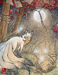 Kitsune - thelegendoffantasy.qwqw.hu