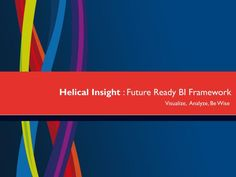 Helical Insight is world\'s first open source Business Intelligence framework. It is completely browser based solution and provides all the capabilities expected out of any BI tool like user role management, multi-tenant environment, exporting, email scheduling, device compatibility, Administration etc.