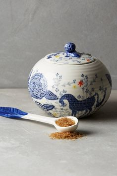 Saga Sugar Bowl - anthropologie.com