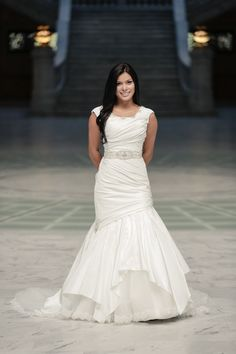 Modern Interpretation of a Classic - Modest Wedding Gown