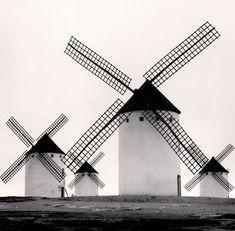 Campo de Criptana, La Mancha, ES 1996. by Michael Kenna. -repinned by California portrait photographer http://LinneaLenkus.com  #fineartphotography