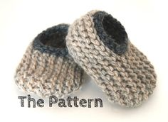 Instant Download $ PDF Knitting Pattern  Wool Baby by HandKnitHugs