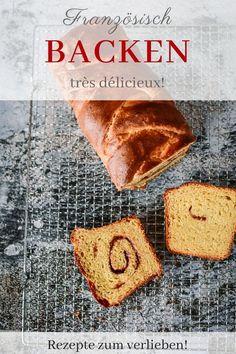 """Backen französisch ♥️ Für mich ist dieses Brioche-Rezept eine Jahrhundertentdeckung. Ich weiß, es gibt eine Milliarde Briocherezepte und Variationen…aber wer (wie ich!!!) sein Brioche """"rich and heavy"""" mag…für den ist diese Variante ein Geschenk des Himmels. Du kannst die Füllung nach Herzenslust wählen. Butter und Zucker und Zimt, Karamell-Creme mit Salzflakes, Nougatcreme…alles ist erlaubt.  Und für Puristen: Auch ohne Füllung ist dieses Brioche von seiner Konsistenz dicht an der Perfekti Butter Brioche, Beste Burger, Sweet Bakery, Fabulous Foods, Easy Peasy, Good Food, Favorite Recipes, Bread, Sweet Cakes"""