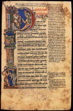 A twelfth century Latin manuscript of Paul