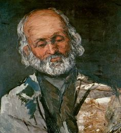 Paul Cézanne - portait du père Rouvel de Bennecourt