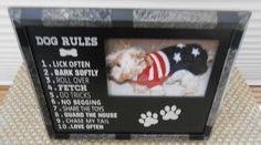 Dog Rules by FramesByDevora on Etsy Dog Frames, Make It Yourself, Toys, Handmade Gifts, Activity Toys, Kid Craft Gifts, Clearance Toys, Craft Gifts, Gaming