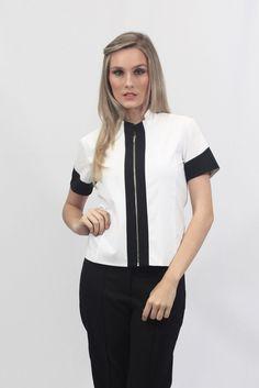 Camisa Valeria - Uniforme profissional BH