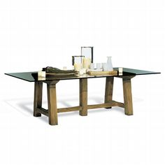 Love this table in House Beautiful's Kitchen of the Month - North Atlantic Coast Dining Table RalphLaurenHome.com