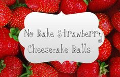 No Bake Cheesecake Balls Are you craving cheesecake but don't have the time to go through the whole process of going to the store, finding all of the ingredients, putting them all together, baking them, and then finally getting to enjoy it? Well you are in luck, because I have a simple, easy recipe for delicious r...  Read More at http://www.chelseacrockett.com/wp/food-2/no-bake-cheesecake-balls/.  Tags: #Cheesecake, #Food, #NoBakeCheesecakeBalls, #Snacks, #Strawberry,