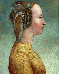 A Florentine Woman, 1467 (Unknown Artist)