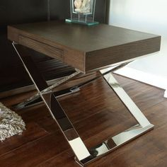 Pangea Home Mason End Table | AllModern