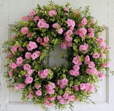 pink rose bud wreath - Yahoo Image Search Results