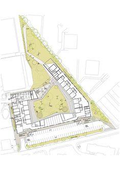 Kindergarten Mavrica,Site Plan