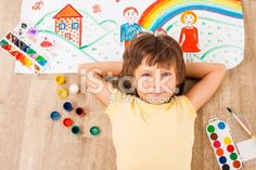 Young artist. Royalty Free Stock Photo use promo codes and coupon codes.