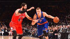 New York Knicks vs Chicago Bulls 12/9/2017