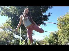 Foot Flip Wedgie Intermediate Hula Hoop Tutorial - YouTube
