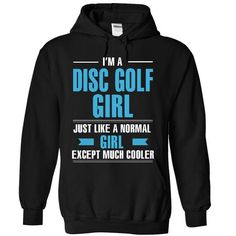 Cool Disc Golf girl - #gift ideas #gift for mom. GUARANTEE => https://www.sunfrog.com/LifeStyle/Cool-Disc-Golf-girl-2972-Black-9386137-Hoodie.html?id=60505