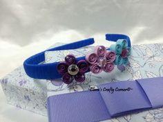 Purply Flower Headband