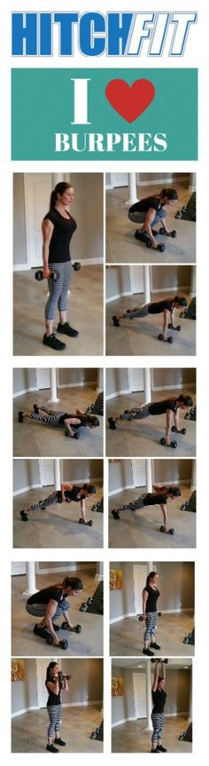 Burpees Exercise - Advanced Workout Routine  #Burpee #Burpees #AtHomeWorkout #Plyometrics Exercise Workouts, Excercise, At Home Workouts, Women's Health, Health Fitness, Online Personal Training, Endurance Workout, Plyometrics, Spartan Race