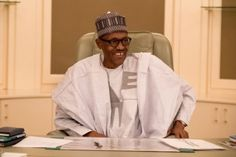 ACKCITY NEWS: Photos: President Buhari Resumes Work, Looking Very Radiant