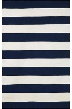 "Plank Area Rug Home Decorators Collection Several color options 7'9"" x 9'6"" $295  FAVORITE CHOICE FOR LR IN NAVY & WHITE"