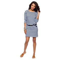 Stripey Tee Dress $58.00