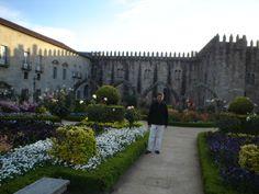 Jardim de Santa Bárbara do Paço Episcopal Bracarense, em Braga, Portugal || Foto: Pedro Andrade