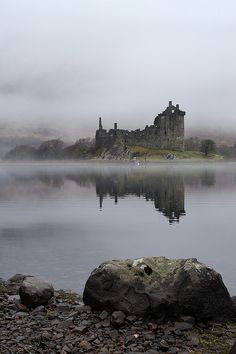 Campbell's kingdom. Kilchurn Castle, Scotland, was built in the mid-1400s by Sir Colin Campbell, 1st Lord of Glenorchy.