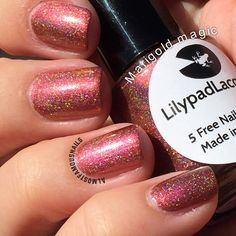 Lilypad Lacquer Marigold Magic from the Fabulous Floral collection, March 2015. Bought from LPL Australia's restock in March 2015. Pinned from Almost Famous Nails' blog