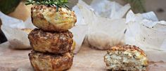 Oh my gosh — fresh rosemary and goat cheese Paleo muffins! This is real. All hail rosemary, the ancient super herb that offers antiseptic, brain enhancing and circulation boosting powers. The shar…