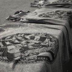 It's all about the details....... #fineart + #fabric = #fashion with #love #superiorink #printing