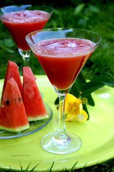 Drink arbuzowy Aperol Drinks, Alcoholic Drinks, Lime Juice, Cantaloupe, Watermelon, Cake Recipes, Lemon, Appetizers, Tasty