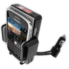 Advanced Car Mount System for Blackberry - FM Transmitter & Charger - Hands-Free Calling - Car Stereo MP3 Playback - for BOLD 9000 / 9700 - Curve 8520 GEMINI - World Edition 8800 / 8820 / 8830 by Accessory Power. $9.99. AUTHENTIC INNOVATIVE FLEX-BERRY TECHNOLOGYSOLD ONLY BY ACCESSORY GENIEThe Accessory Power Go Groove FLEX-BERRYPlay, Charge, and Mount your BlackBerry CellphonePlay Music Through Your Car Speakers!Sound quality is SUPERIOR to most any FM Transmitter on the mar...