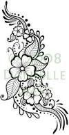 Resultado de imagen para flores con textura tatuaje