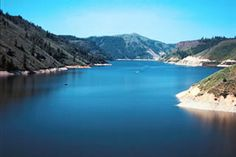 Anderson Ranch Reservoir  in Idaho. We have our camping trip here almost every year with the family.