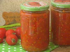 Kışlık Konserve Menemen Tarifi Meatloaf, Salsa, Jar, Vegetables, Kitchen, Food, Cooking, Kitchens, Essen