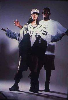 aaliyah 90s outfits - Google-haku