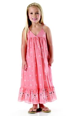 c444db03f Pink Butterfly print maxi dress by Marie-Chantal. Kids Maxi Dresses, Pink  Butterfly