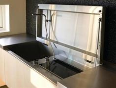 hidden sink and burner