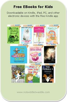 You will find several cute picture books for preschoolers on today's list of free eBooks.