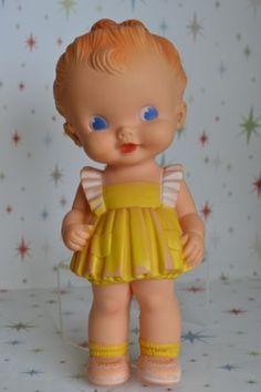 Sun rubber co. 8 inch doll.