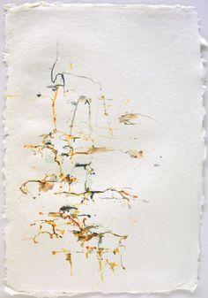 Karl Pilato, ink12-3, 19 x 13, ink on paper, 2012