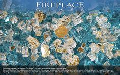 Gold Coast Premixed Fireplace Glass