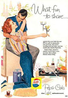 1958 Pepsi Ad