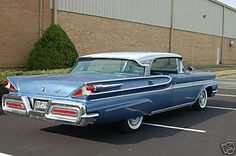 1958 Mercury Park Lane 4-Door Hardtop Maintenance/restoration of old/vintage vehicles: the material for new cogs/casters/gears/pads could be cast polyamide which I (Cast polyamide) can produce. My contact: tatjana.alic@windowslive.com
