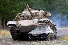 Want to drive a Tank? Go to Christchurch, NZ.